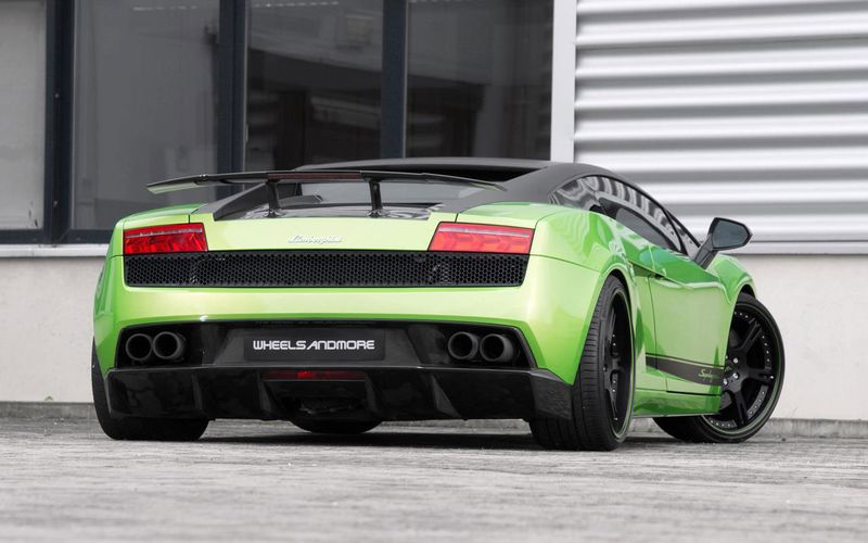 Lamborghini Gallardo Superleggera LP570-4 от тюнеров из Wheelsandmore (9 фото)