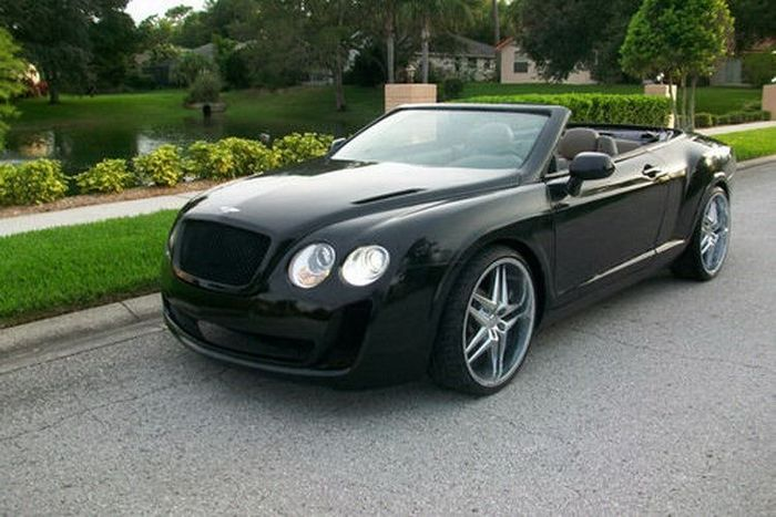 Bentley Continental Supersports Convertible из старого Chrysler Sebring (15 фото)